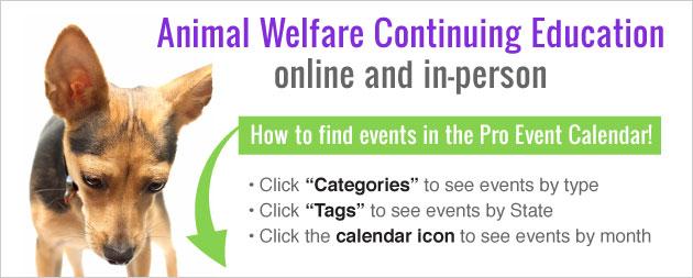 Animal Welfare Event Calendar